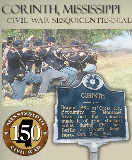 Corinth Civil War 150th